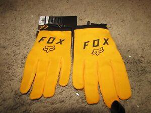 NEW NWT *FOX* Ranger Gloves Atomic Orange S Small Touchscreen Compatibility