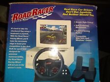 Vintage Road Racer Nascar Pro Racing Wheel and Pedals for PC Version/IBM-PCs Com