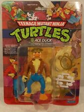 Teenage Mutant Ninja Turtles TMNT 1989 - Ace Duck Hat On Head Punched (MOC)