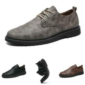 Mens Low Top Business Leisure Shoes Work Office Soft Walking Sports Oxfords 44 L