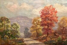 """BRYAN TARLTON (1899-1962), INDIANA IMPRESSIONIST, """"BROWN COUNTY AFTERNOON,1944"""""""