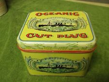 Oceanic cut plug tobacco tin.