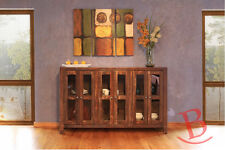 """Bourne 69"""" Buffet TV Console Rustic Western Solid Wood Lodge Cabin Shabby Chic"""