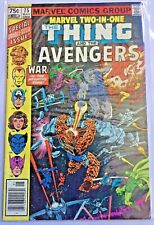 Marvel Two in One: Huge Lot of Books! Thing, Fantastic Four, Avengers! Big Lot!