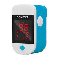 FDA Finger tip Pulse Oximeter Blood Oxygen meter SpO2 Heart Rate Monitor