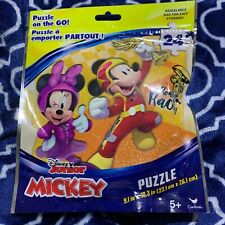 Mickey Mouse Puzzle 24 Piece On The Go Resealable Bag Kids