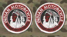 "CAFÉ RACER ROCKERS 59 TON-UP-BOY HOG BIKER 3"" 2-PATCH: INDIAN MOTORCYCLE (RETRO)"