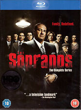 The Sopranos: The Complete Series [Blu-ray Box Set, HBO, Region Free, 28-Disc]