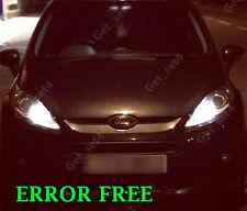 FORD FIESTA MK7 Xenon Bianco 6000K Lampadine Laterali LED Upgrade Privo Di Errori