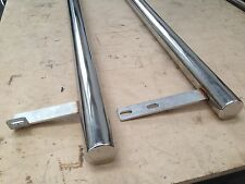 SWB VW T4 Polished 63mm stainless side bars, top quality, easy fit