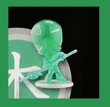 Power Rangers Super Samurai série 2 Vert Transparent Mini Figure-New-rare