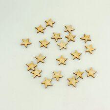 Sterne für Sternenhimmel in 2cm Holz Weihnacht Advent Streuteil Deko Streuteil