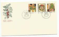 Canada FDC - Scott# 1148-1150 - Christmas  1987  - Canada Post cachet