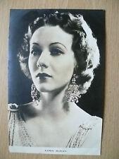 Film Actresses Postcard- KAREN MORLEY '' Film Weekly, London''