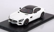 Spark Mercedes-Benz GT AMG C190 White 1:43  Rare Jem! Very Nice!