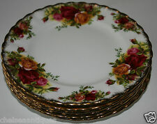 AUTH. 1962 Royal Albert Old Country Roses BREAD PLATE/Side/Salad D16.5cm Floral