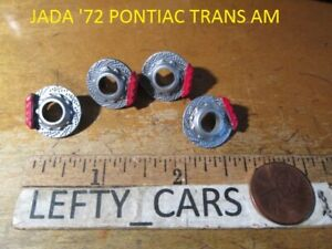 4Rotors&4brake calipers JADA '72 PONTIAC TRANS AM SCALE 1/24 -DIORAMAS! PART'S!