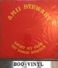 "AMII STEWART - Light My Fire / 137 Disco Heaven - Ex Con 12"" Single Atlantic"