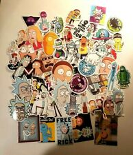 Rick and Morty stickers 50PC Lot! Pickle Rick Cartoon toy