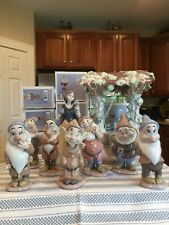 Lladro 7555 7533 - 7539 7558 Snow White & 7 Dwarfs & Wishing Well - Boxes - Mint
