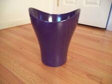 "Umbra CURVINO Trash Can Decorative Plastic Waste Basket 11"" - Prince Purple"