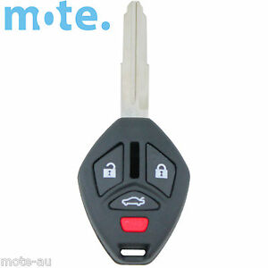 To Suit Mitsubishi 380 2005 - 2008 Remote Key Blank Shell/Case/Enclosure