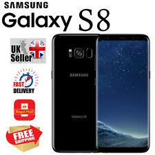 Samsung Galaxy S8 64GB 4GB UNLOCKED Android Smartphone 4G LTE in Midnight Black