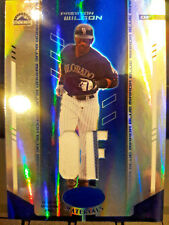 2004 LEAF CERTIFIED PRESTON WILSON COLORADO ROCKIES JERSEY CARD 46/100 00002