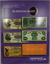 April 24-26 & 28 '13 Platinum Night Auction #3522 Catalog Heritage (A56)