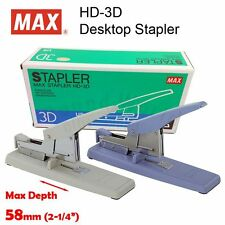 MAX HD-3D Desktop Heavy Duty Stapler, staples up to 70 sheets