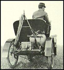 PHOTOGRAVURE LES VEHICULES MILITAIRES MILITARIA GENIE  1900