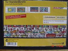 Bund * * MH 73a B Post: Grußmarken; Europa: Der Brief, 2008 im Blister