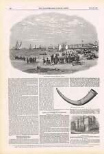 1850 Lowestoft Regatta Borstall Tenure Horn Tower Promenade Opera Dress Fashions