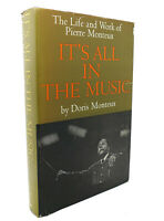 Doris G. Monteux IT'S ALL IN THE MUSIC  1st Edition 1st Printing