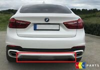 BMW NEW GENUINE X6 F16 REAR BUMPER LOWER BOTTOM TRIM COVER 7323789