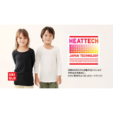 Pre-Owned - Uniqlo - Heattech - 90cm Size - Top & Bottom (Used for 2 Trips)