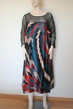 MARINA RINALDI by MAX MARA, Elegant SILK Dress Size MR 29, 20W US, 50 DE, 58 IT