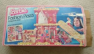 1975 VINTAGE BARBIE FASHION PLAZA Shopping Mall Assembled & Inspected Complete!