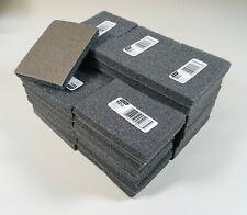 100 Grit Wet Dry Sanding Block Sponge Pad Wood Metal Drywall Paint Sandpaper #38