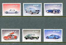 Curacao 2014 Scott 178-83 - Classic Cars, Mustang, Porsche, NH