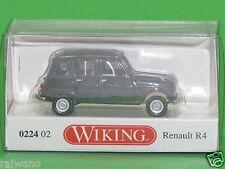 1:87 Wiking 022402 Renault R4 mit Faltdach - tannengrün Blitzversand DHL-Paket
