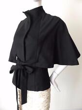 HONEY & BEAU Women's Jacket Black Cape Style Size 8  US 4
