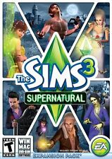 The Sims 3: Supernatural - Expansion Pack [PC-DVD MAC Computer, Simulation] NEW
