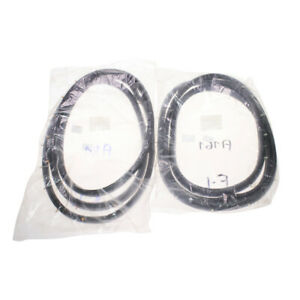 Fit Mitsubishi Galant 4th Gen A160 A161 Sigma Front Door Weatherstrip Rubber Set