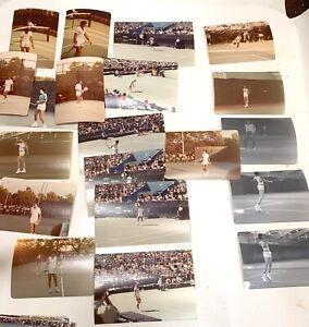 Lot 40 original Tennis Photos  BJORN BORG/Jimmy Connors/Billie Jean/McEnroe