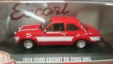 Greenlight 1974 Ford Escort RS 2000 MKI  Limited Edition 1/43 rouge (9965)