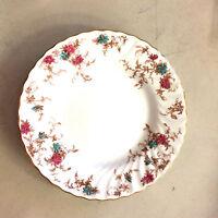 "Ancestral by  Minton Bone China S376  England Swirl Rim   1 Salad Plate  7 7/8"""