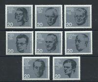 Allemagne - RFA N°297/304** (MNH) 1964 - Attentat du 20 juillet 1944, portraits