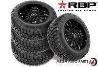 4 RBP Repulsor M/T RX 33x12.50R17LT 114Q 10-Ply/E Off-Road Truck Mud Tires