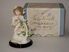 Giuseppe Armani - CHERIE Girl w Rose Basket Figurine #1418F The Society 2001 NIB